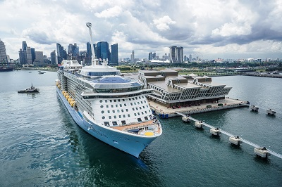 Quantum Of The Seas Makes First Stop In Singapore Royal