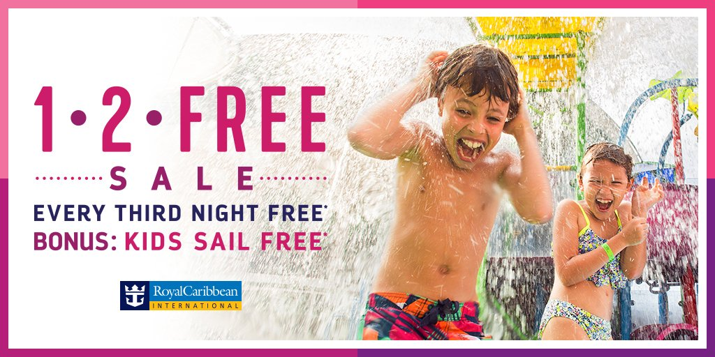 Royal Caribbean Offering Kids Sail Free Deal On Select Sailings - Kids sail free
