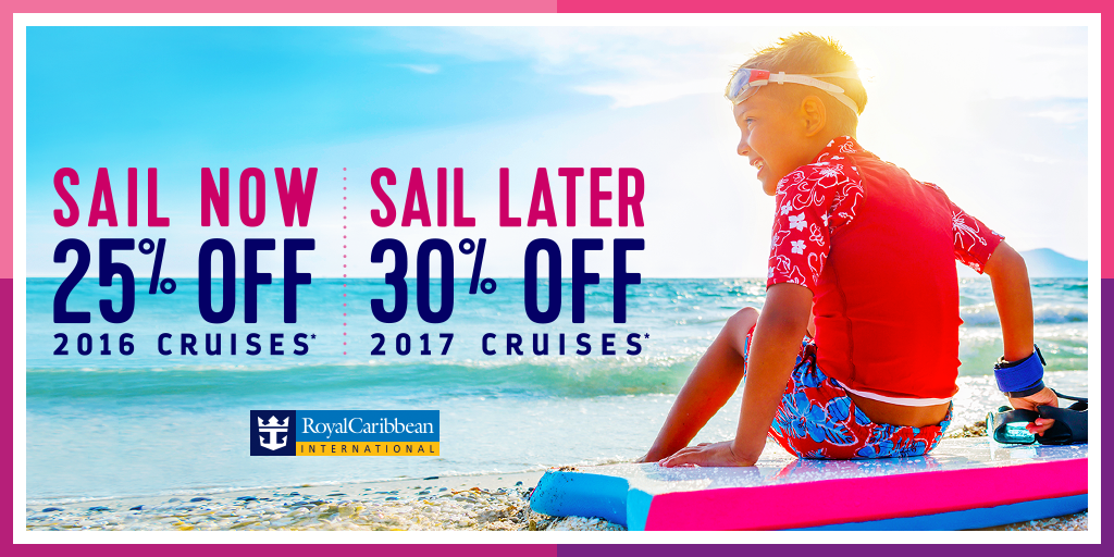Royal Caribbean Offering Up To Off Cruises Plus Limited Time - Kids sail free