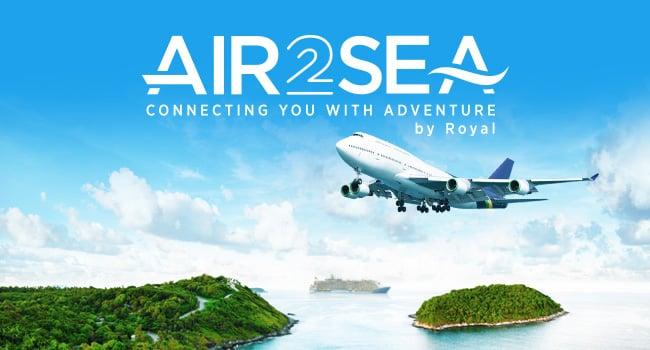 Royal Caribbean Announces New Airfare Reservation Program Called Air2sea Royal Caribbean Blog
