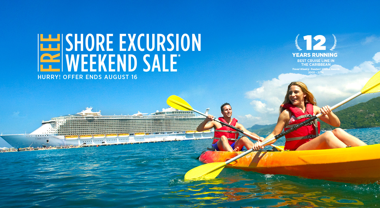 Royal Caribbean Offering Free Shore Excursions For Cruises Booked This Weeken