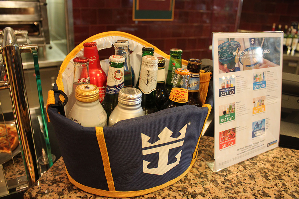 Spotted New Royal Caribbean Unlimited Alcohol Package