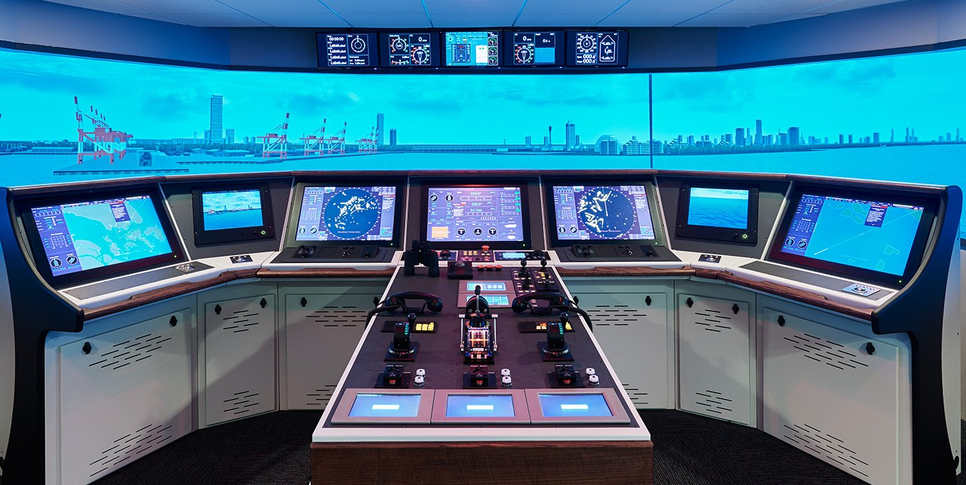 Inside Look At Royal Caribbeans Cruise Ship Simulator Royal - Pictures of the inside of a cruise ship