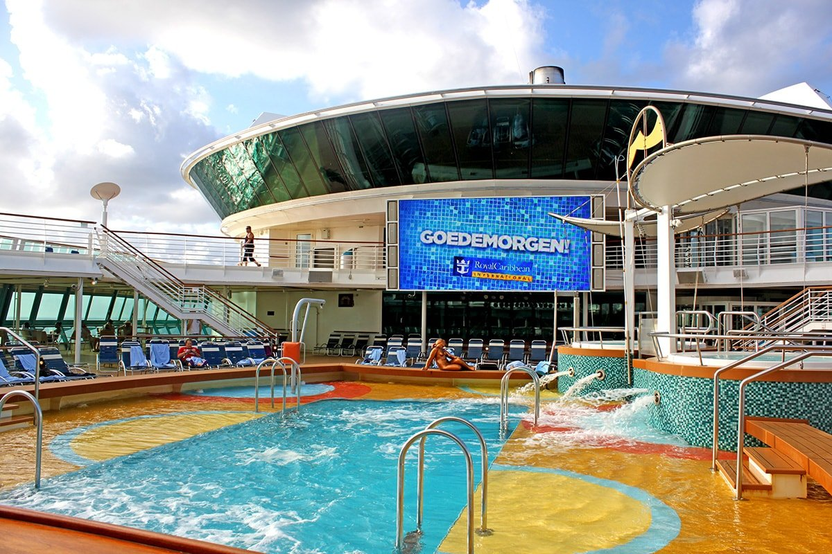 Royal caribbean to add lifeguards to its cruise ships royal in addition royal caribbean will present a 15 minute water safety presentation during the adventure ocean open house session on embarkation day falaconquin