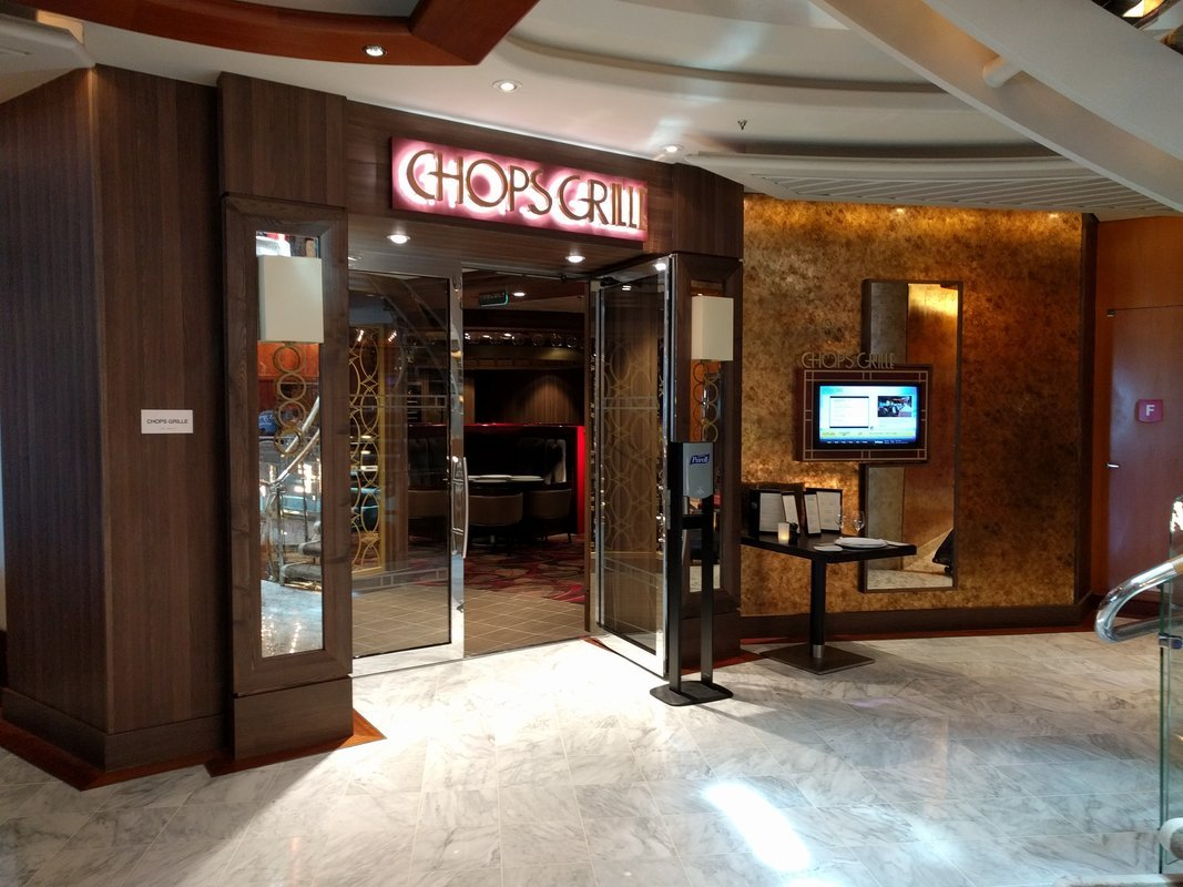 Photo tour of Chops Grille on Adventure of the Seas | Royal Caribbean Blog