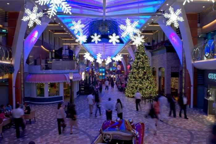 Royal Caribbean Is Celebrating The Holiday Season This