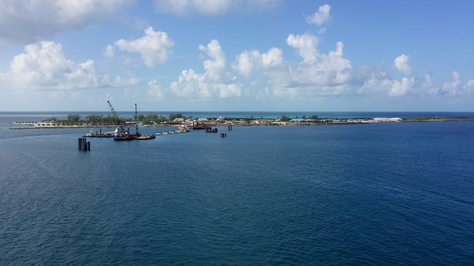 perfect day at cococay construction progress photo report royal
