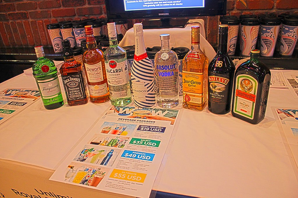 How Many Drinks Included In Royal Caribbean Drink Package