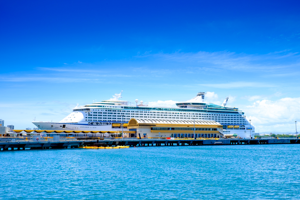 Royal Caribbean S Explorer Of The Seas On Her Way To