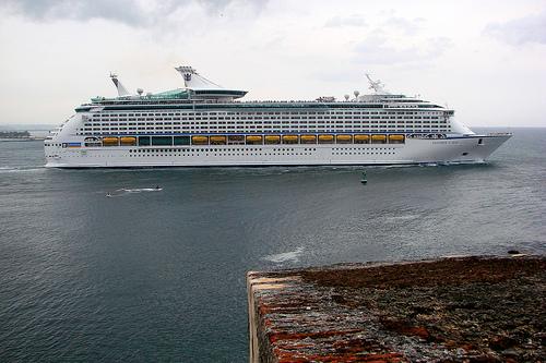Royal Caribbean S Explorer Of The Seas Makes Maiden Call