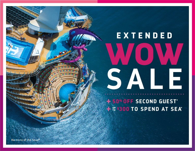Royal Caribbean Extends WOW Sale And Adds Kids Sail Free Offer - Kids sail free