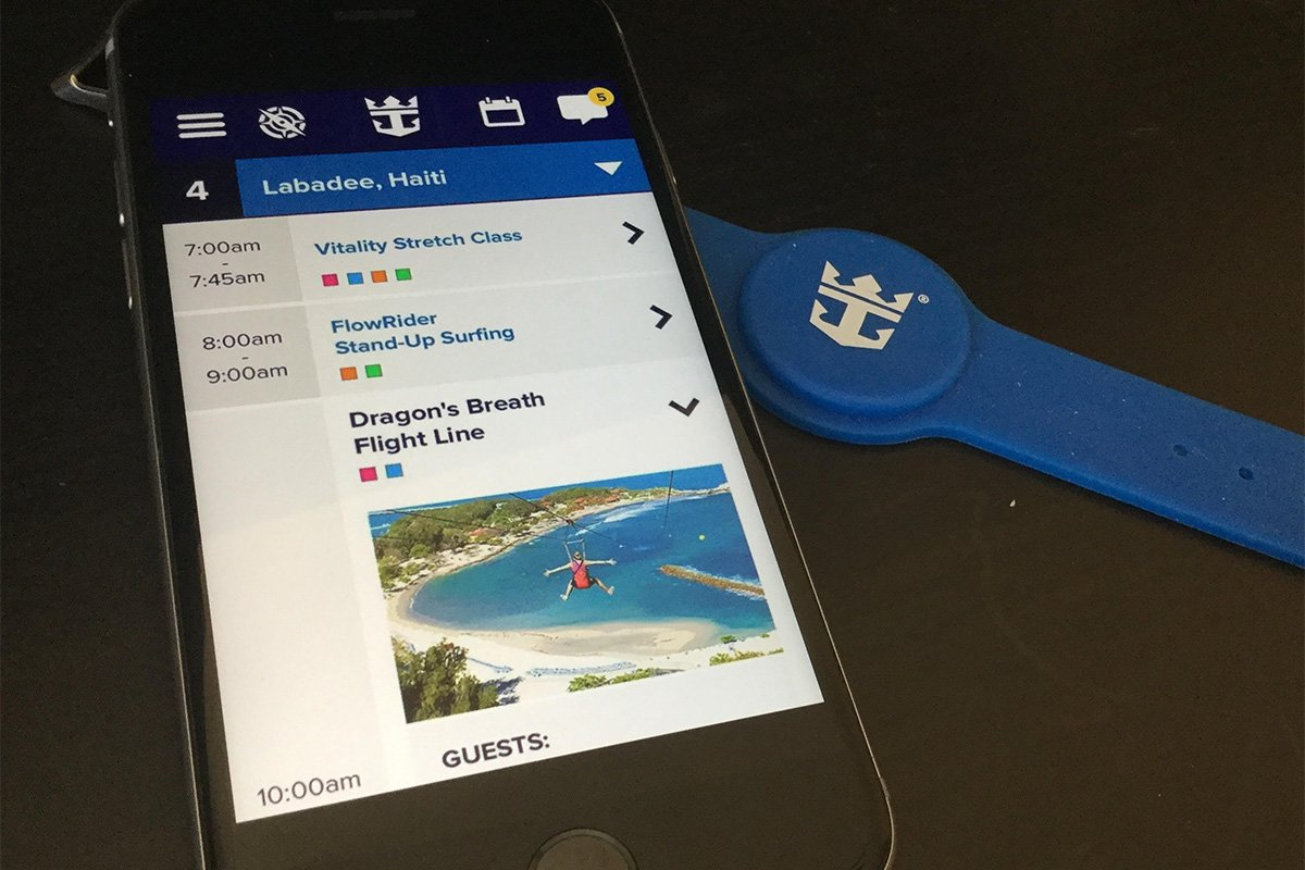 Royal Caribbean working on new mobile app to improve guest