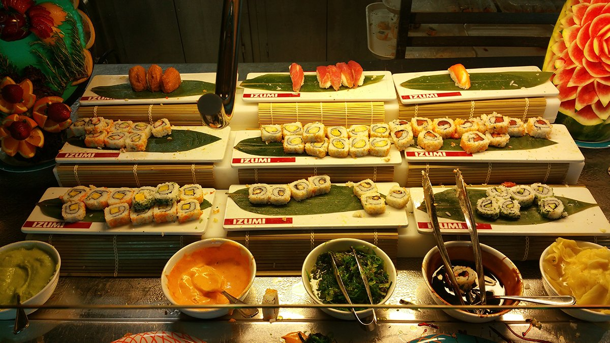 Spotted Izumi Sushi In Windjammer On Liberty Of The Seas
