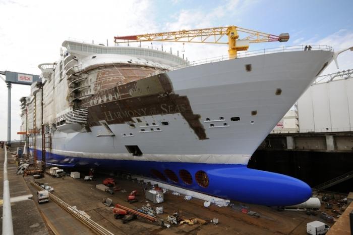 Harmony Of The Seas Construction Photo Update Royal