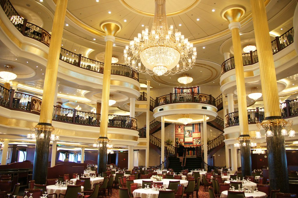 Royal Caribbean Main Dining Room Deck