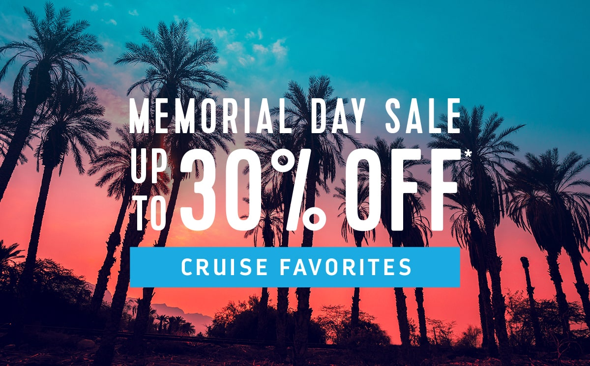 Royal Caribbean Memorial Day Pre Cruise Planner Sale Offers Up To