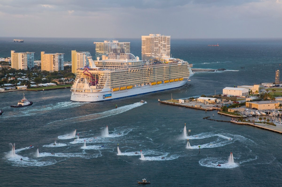 Explore The Beauty Of Caribbean: Photos And Video Of Royal Caribbean's Harmony Of The Seas