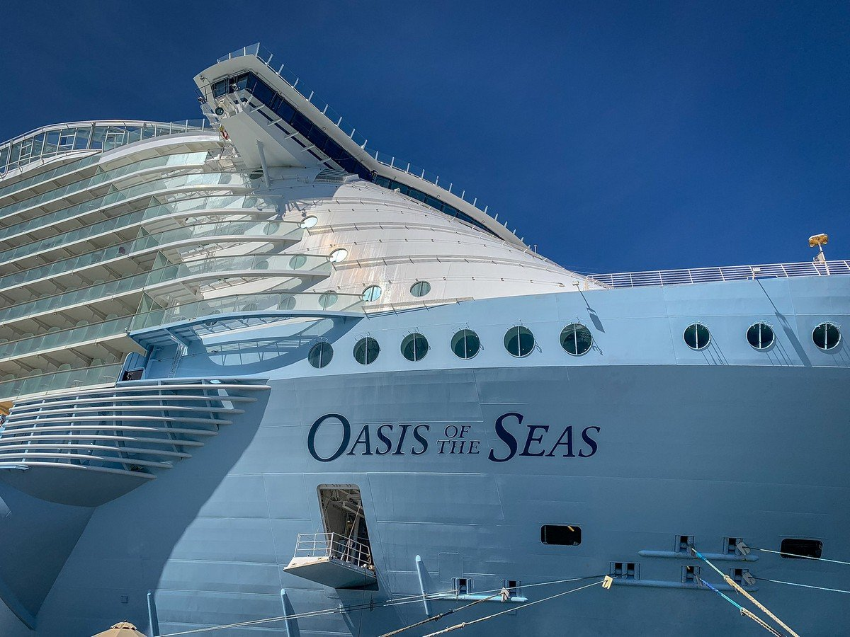 'Oasis of the Seas' cruise ship passenger dies after going overboard