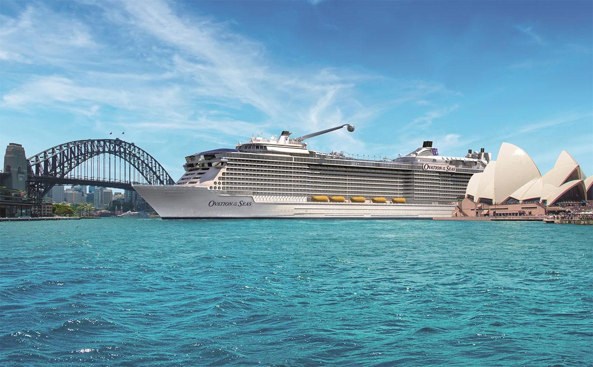 Royal Caribbean Extends Ovation Of The Seas39 Maiden Season And Announces