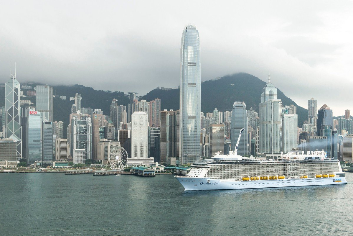 Royal Caribbean S Ovation Of The Seas Arrives In Hong Kong