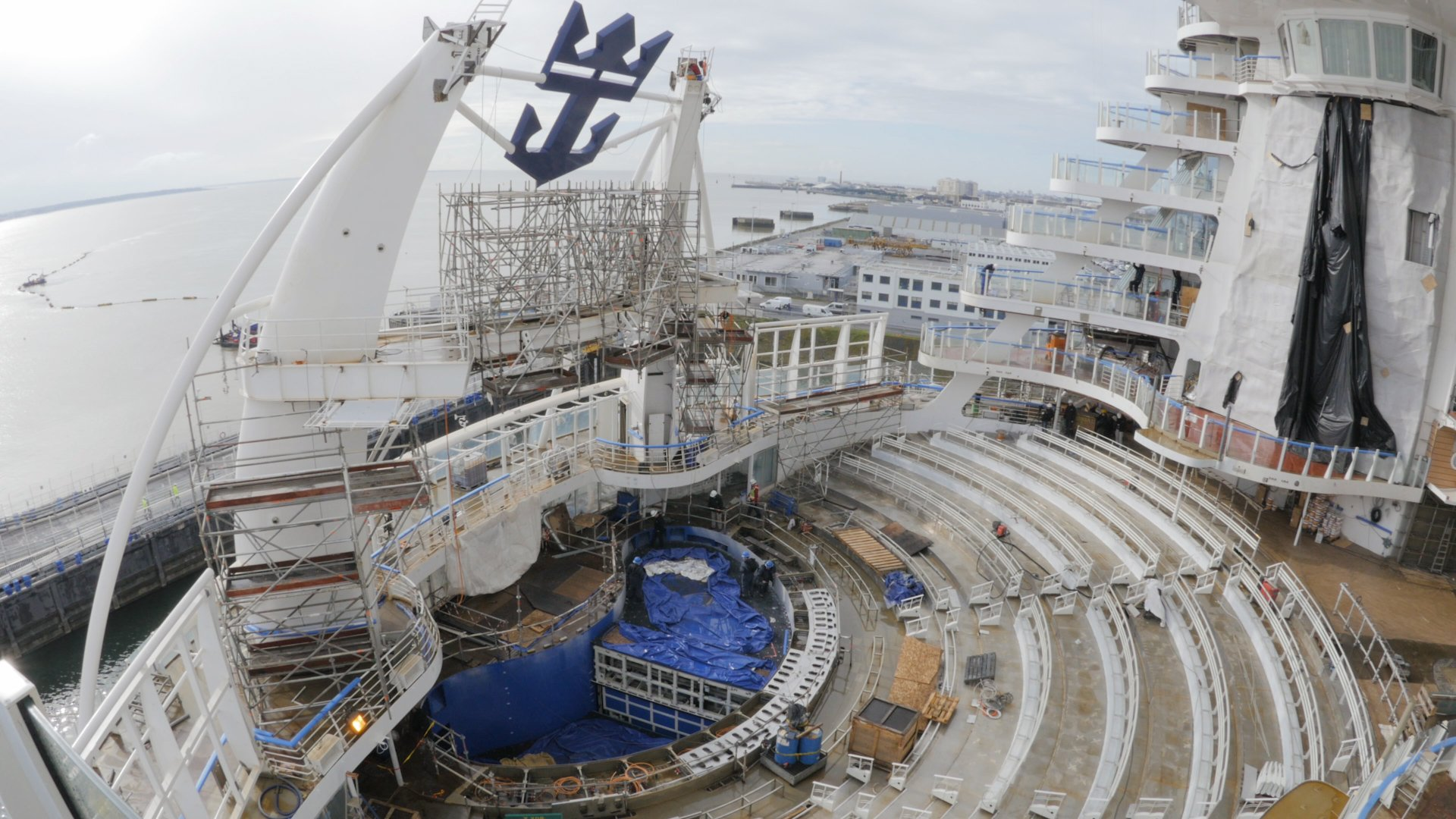 99 Days Of Harmony A Shipyard Update From Royal Caribbean