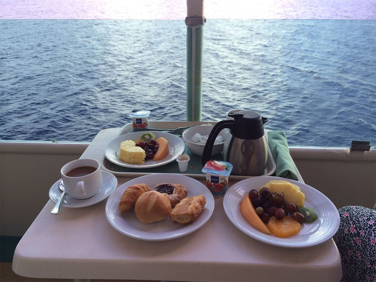 Seven things that are totally free on a royal caribbean for The balcony menu