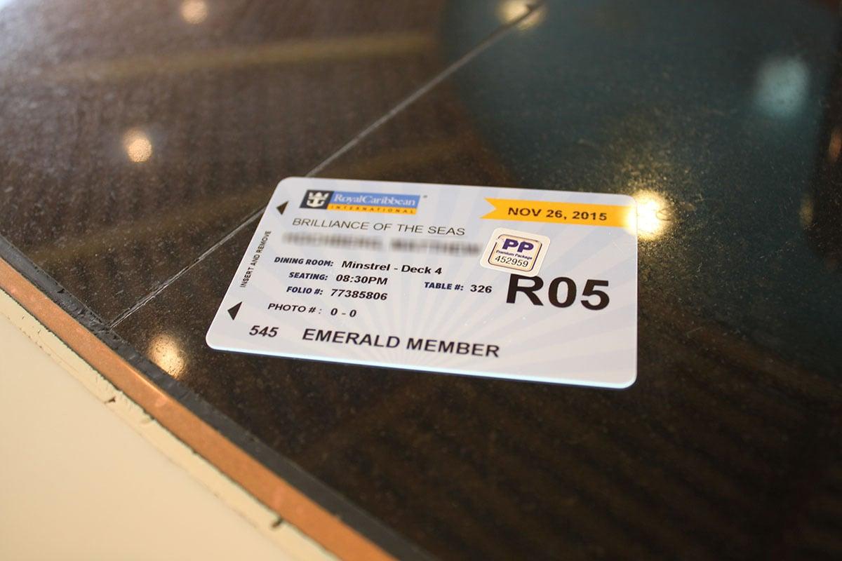 First Time Cruisers Royal Caribbean S Seapass Card