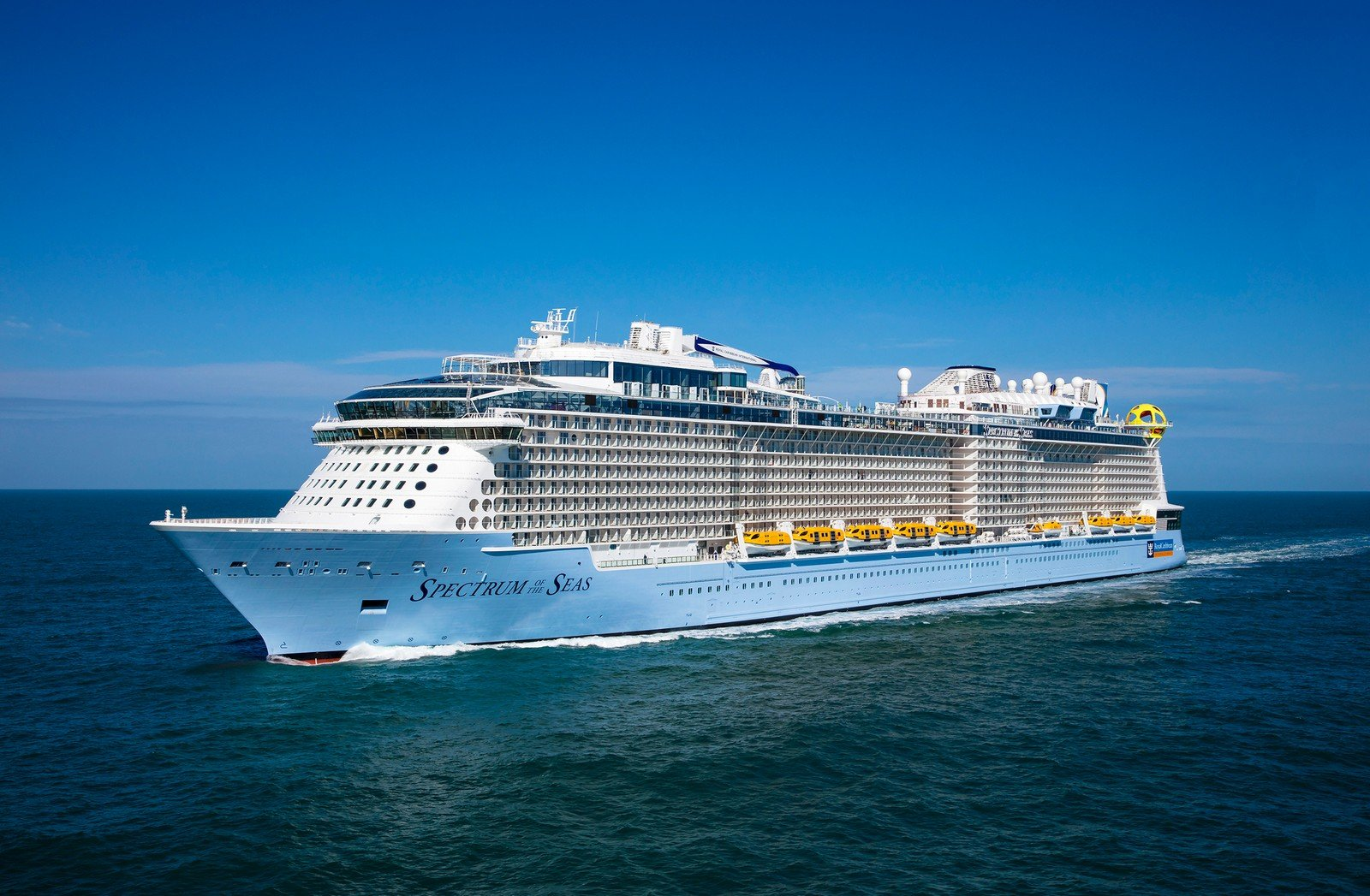 Royal Caribbean adds Spectrum of the Seas to new app