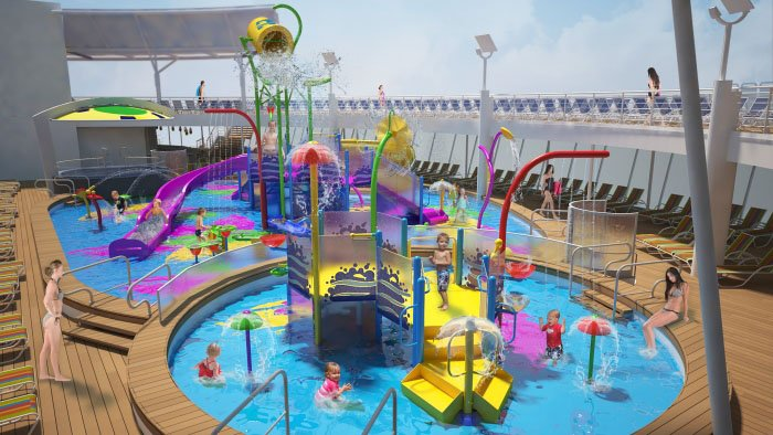 Royal Caribbean To Offer New Splashaway Bay For Kids On