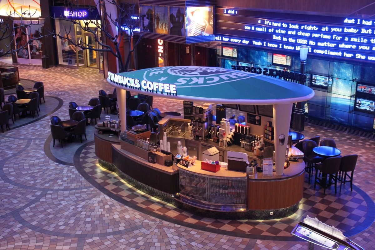 99 Days Of Harmony Starbucks Royal Caribbean Blog
