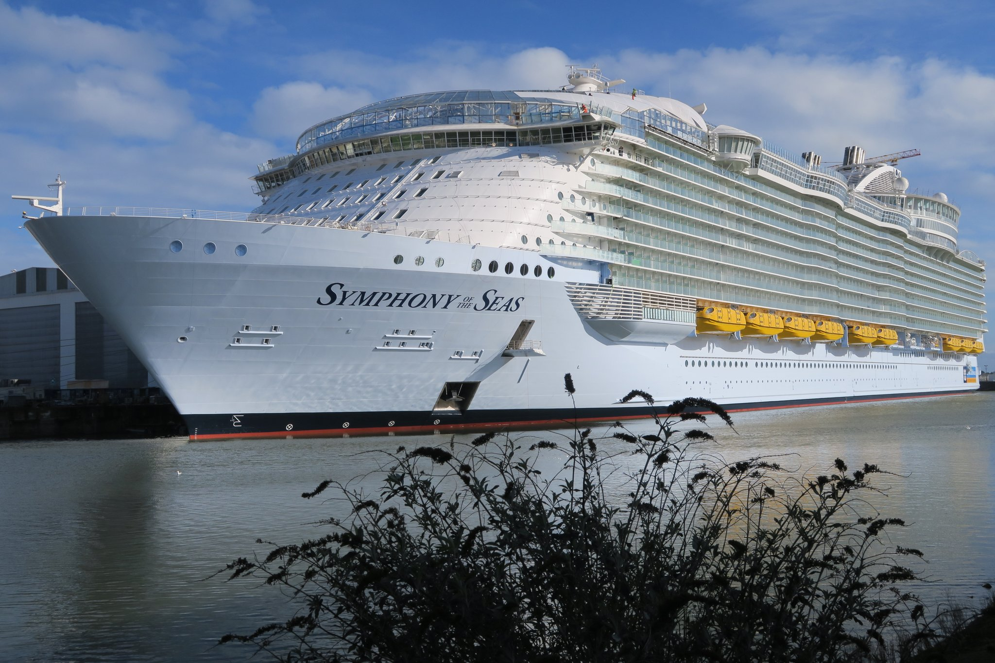 Symphony Of The Seas Royal Caribbean Blog - Cost to build cruise ship