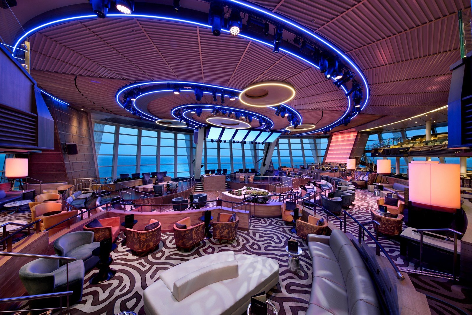 Majesty Of The Seas Floor Plan Everything About Two70 On Royal Caribbean S Anthem Of The