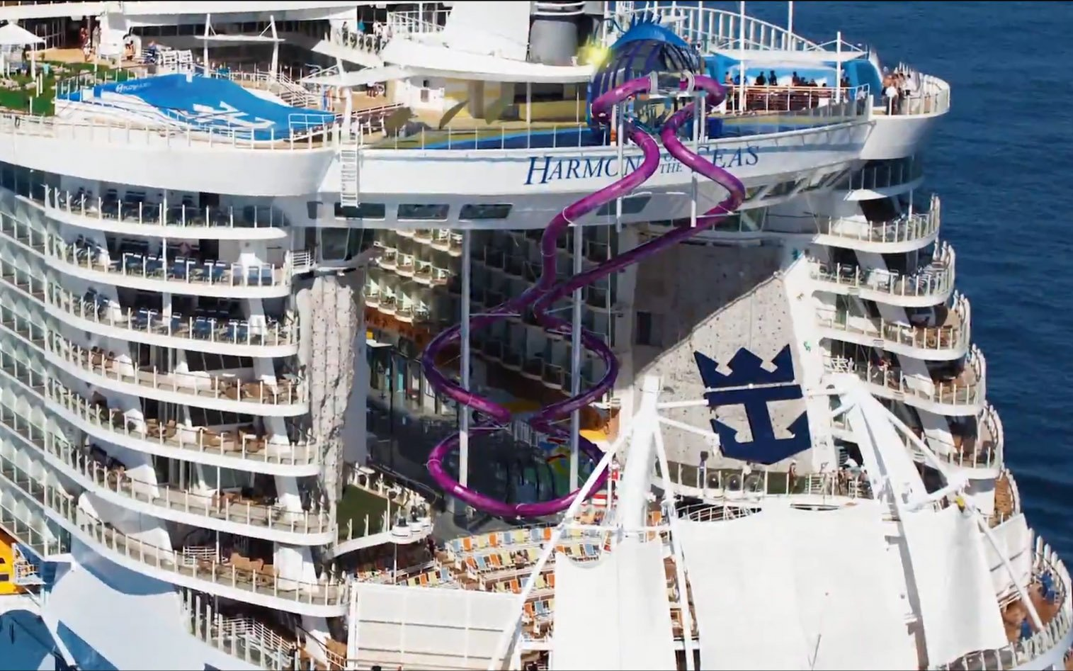 5 Quick Facts About Royal Caribbeans Ultimate Abyss Slide On