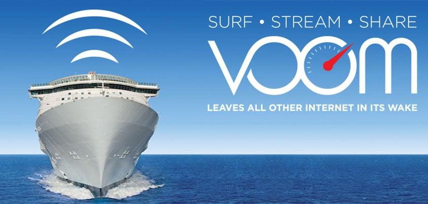 Royal Caribbean Begins Selling Onboard Internet Packages