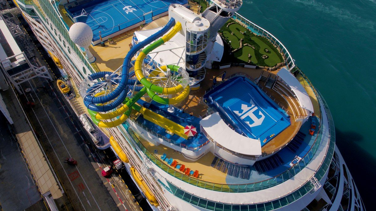 Photos: Voyager of the Seas completes $97 million renovation
