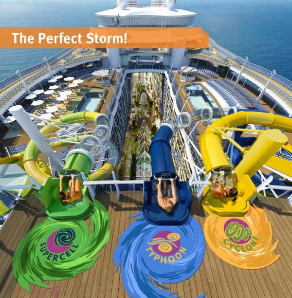 99 Days Of Harmony Perfect Storm Water Slides Royal