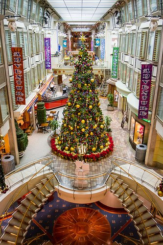 PHOTOS Christmas On Royal Caribbean  Royal Caribbean Blog