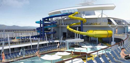 Royal Caribbean will add water slides to all Oasis-class ... Oasis Of The Seas Construction
