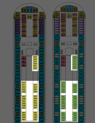 Navigator Of The Seas Deck Plan Changes Coming In 2014