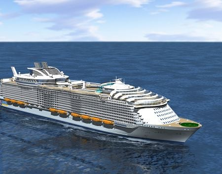 First Images Of Royal Caribbean39s Third Oasis Class Cruise