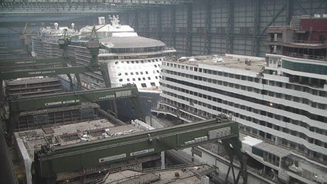 Meyer Werft Reschedules Anthem Of The Seas Float Out For February - Cruise ship builders