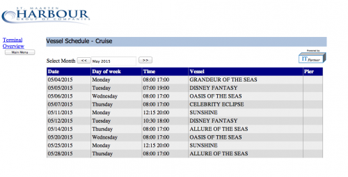 Cruise Ship Port Schedules Fitbudha Com