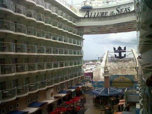 Photo Of The Day Allure Of The Seas Boardwalk Royal