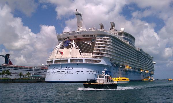 Photo Of The Day Allure Of The Seas In St Thomas Royal