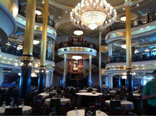 photo of the day: independence of the seas main dining room