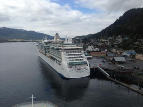 Photo Of The Day Radiance Of The Seas Docked In Ketchikan