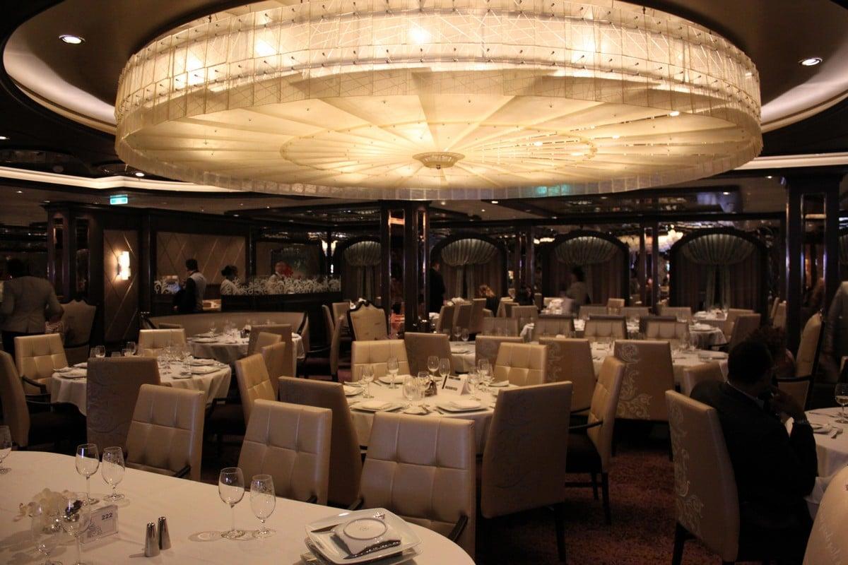 Elegant Dinner Restaurant Review The Grande On Quantum Of The Seas