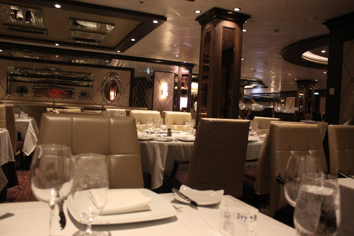 Restaurant Review The Grande On Quantum Of The Seas