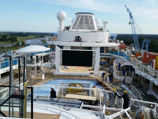99 days of Quantum: Quantum of the Seas construction ...