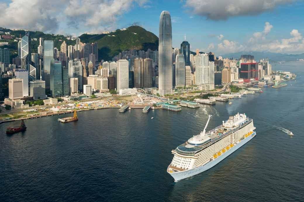 Quantum Of The Seas Arrives In Hong Kong Royal Caribbean